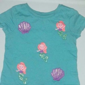Mermaid kids Top